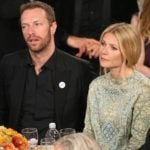 Chris Martin with his wife Gwyneth Paltrow