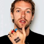 Chris Martin's hand tattoo