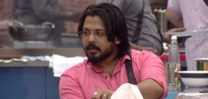 David John in the house of Bigg Boss Malayalam 1