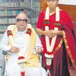 Dayalu Ammal With Her Husband Karunanidhi