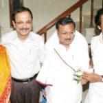Dayalu Ammal's Children (from left) - Selvi Geetha Kovilam, M. K. Tamilarasu, M. K. Alagiri, M. K. Stalin