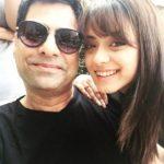 Deeksha Kanwal Sonalkar with her father Manoj Sonalkar