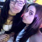 Deeksha Kanwal Sonalkar with her sister Deeya Sonalkar