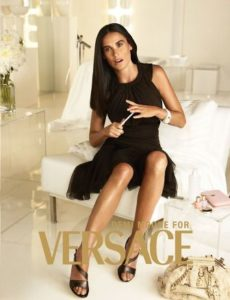Demi Moore for Versace