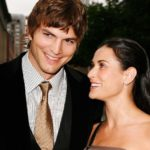 Demi Moore with her husband Ashton Kutcher
