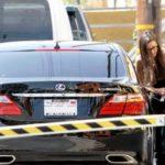 Demi Moore's Lexus LS 600h