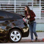 Demi Moore's Toyota Prius