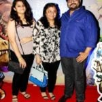 Deven Bhojani with his wife Jagruti Bhojani and daughter