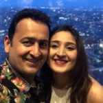"Dhvani Bhanushali With Her Father ""Vinod Bhanushali"""