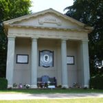Diana's Memorial in Althrop, Northhampshire