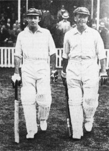 Don Bradman and Bill Ponsford