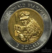 Don Bradman on $5 coin