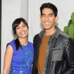 Freida Pinto with Dev Patel