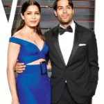 Freida Pinto with boyfriend Ronnie Bacardi