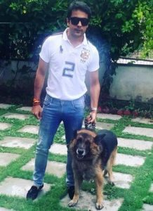 Gaurav S Bajaj loves dogs