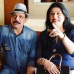 Govind Namdev With His Wife Sudha Namdev