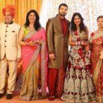 Govind Namdev With His Wife Sudha Namdev, Daughter Megha Namdev, and Son-in-Law Anang Desai