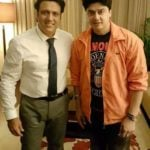 Harish Kumar with his favourite actor Govinda