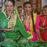 Himani Shivpuri as Razia in the movie Hum Apke Hai Koun (1994)