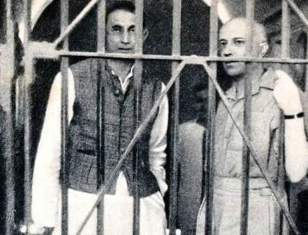 Jawaharlal Nehru Detained during Civil Disobedience Movement