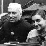 Jawaharlal Nehru With His Daughter, Indira Gandhi