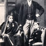 Jawaharlal Nehru With His Father and Mother