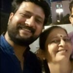 Jitendra Joshi With His Mother