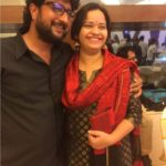 Jitendra Joshi With His Wife