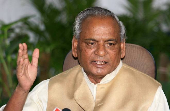 Image result for Former Governor Kalyan Singh will take membership of BJP today.