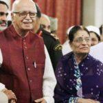 Kamla Advani With Her Husband, L.K. Advani