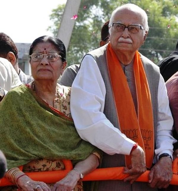 Kamla Advani With Her Husband
