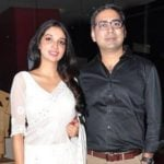 Kanika Dhillon with her husband Prakash Kovelamudi