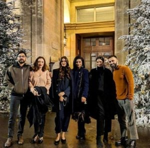 Karan Boolani Captured With Rhea Kapoor, Sonam Kapoor and Anand Ahuja