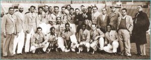 Kishan Lal's Indian Hockey Team of 1948 Olympics