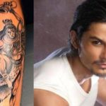 Kunal Khemu's Lord Shiva Tattoo on his leg