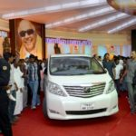 M Karunanidhi - Toyota Alphard