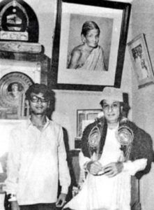 M. K. Alagiri with MGR (Former Chief Minister of Tamil Nadu)