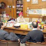 Mahashay Dharampal Gulati at his office