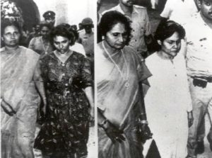 Maldivian Lady Officers Arrested in the ISRO espionage Case; Mariam Rasheeda (Left) and Fauzia Hassan (Right)