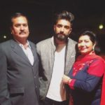 Mr.MnV with his parents