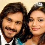 Naitik Nagda with his wife Ishita Nagda