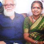 Nambi Narayanan With His Wife