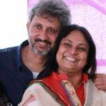 Neeraj Kabi With His Wife