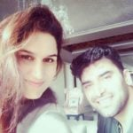 Nikitin Dheer with his sister Nitika Shah