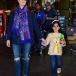 Nitara With Her Mother Twinkle Khanna