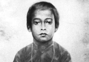 Paramahansa Yogananda at the age of six