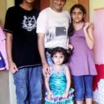 Paresh Ganatra with his children