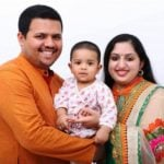 Pinarayi Vijayan's Son With His Wife And Son