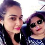 Piyali Munsi with her sister Paramita Munsi