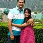 Poorva Gokhale with her husband Kedar Gokhale
